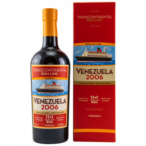 Venezuela 2006/2019 - 12 Jahre Small Batch Casks No. 11 & 12 (Transcontinental Rum Line)