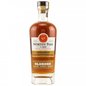 Worthy Park 2013/2019 Special Cask Release Oloroso Finish