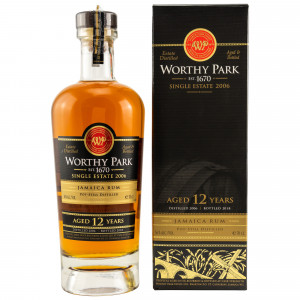 Worthy Park 2006/2018 12 Jahre Single Estate