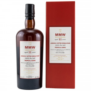 Monymusk 11 Jahre MMW Wedderburn Jamaica Vatted Single Rum Tropical Aging