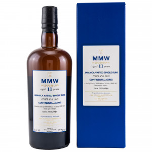 Monymusk 11 Jahre MMW Wedderburn Jamaica Vatted Single Rum Continental Aging