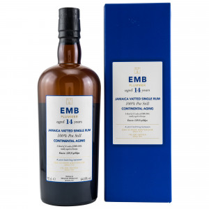 Monymusk 14 Jahre EMB Plummer Jamaica Vatted Single Rum Continental Aging
