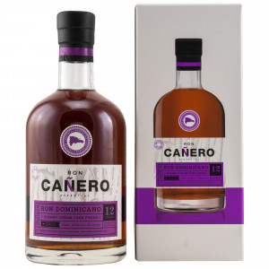 Ron Canero 12 Jahre Solera Ron Dominicano Sherry Cream Cask Finish