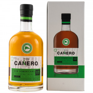 Ron Canero 12 Jahre Solera Ron Dominicano Malt Whisky Finish