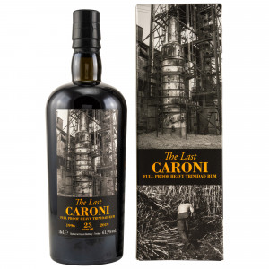 Caroni 23 Jahre 1996/2019 The Last Caroni Full Proof Heavy Trinidad Rum