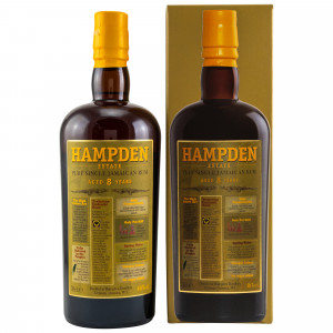 HAMPDEN Estate Pure Single 8 Jahre Jamaican Rum