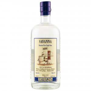 Savanna Reunion Pure Single White Rum HERR (Habitation Velier)