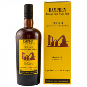 Hampden 2011/2019 8 Jahre OWH Single Cask No 95