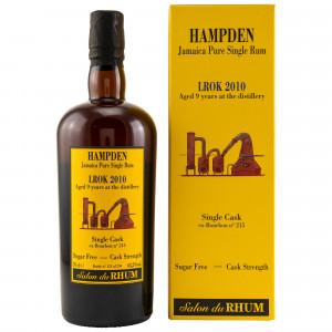 Hampden 2010/2019 9 Jahre LROK Single Cask No 215