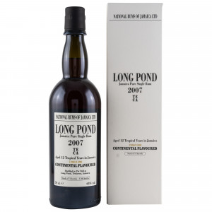 Long Pond 2007/2019 - 12 Jahre TECA Jamaica Pure Single Rum