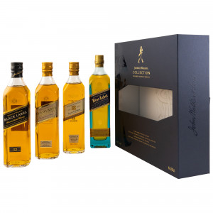 Johnnie Walker Collection (4x200ml alte Ausstattung)