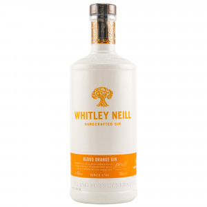 Whitley Neill Blood Orange Dry Gin (Alte Ausstattung)