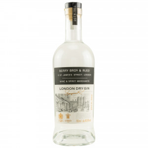 London Dry Gin  (Berry Bros and Rudd)