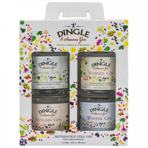 Dingle 4 Seasons Gin Geschenkset