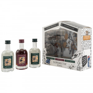 Sipsmith London Dry Gin Miniatur Collection