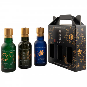 KI NO BI Kyoto Dry Gin Collection 3x200ml