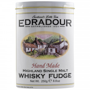 Edradour Hand Made Whisky Fudge Metalldose (250g)