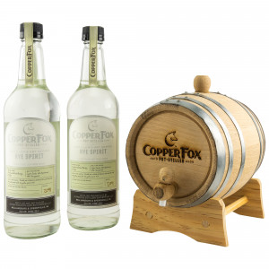 Wasmunds Barrel Kit Rye Spirit (2 Flaschen) + Holzfass (USA)
