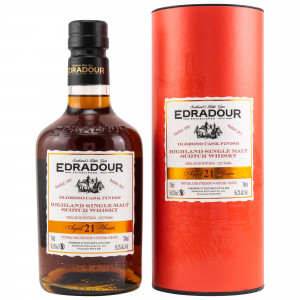 Edradour 1995/2017 - 21 Jahre Oloroso Sherry Cask Finish Small Batch Bottling