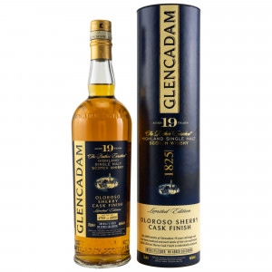 Glencadam 19 Jahre Oloroso Sherry Finish - Limited Edition