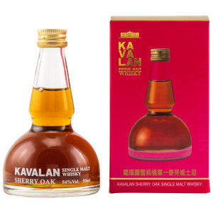 Kavalan Sherry Oak Pot Still Miniatur (Miniatur)