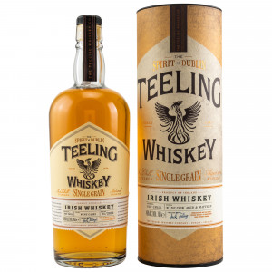 Teeling Single Grain Wine Cask Finish mit Tube