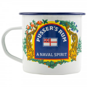 Pussers Mug Painkiller Emaille Becher