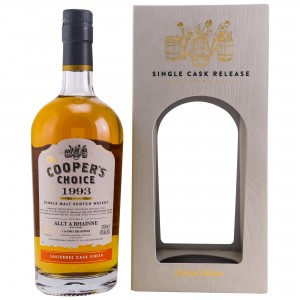 Allt-A-Bhainne 1993/2018 25 Jahre Sauternes Cask Finish (Vintage Malt Whisky Company - The Coopers Choice)