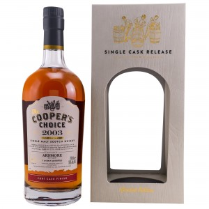 Ardmore 2003/2018 14 Jahre Port Cask Finish (Vintage Malt Whisky Company - The Coopers Choice)