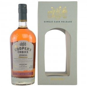 Ardmore 2008/2017 Port Cask Finish Cask No. 823 (Vintage Malt Whisky Company - The Coopers Choice)