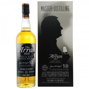 Arran 2007/2017 10 Jahre James MacTaggart Limited Edition