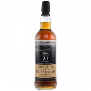 Arran 1996/2017 21 Jahre Single Malt Whisky (The Nectar)