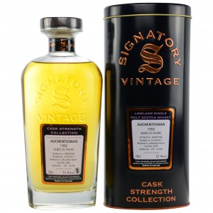 Auchentoshan 1992/2017 Cask No. 5430 (Signatory Cask Strength Collection)