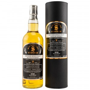 Aultmore 2009/2019 Bourbon Cask No. 303221 (Signatory Un-Chillfiltered)