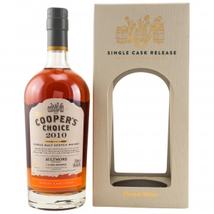 Aultmore 2010/2019 Muscat Finish Single Cask No. 9527 (Vintage Malt Whisky Company - The Coopers Choice)