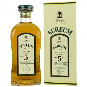 Aureum Single Malt 5 Jahre - matured in Chestnut Casks (Deutschland)