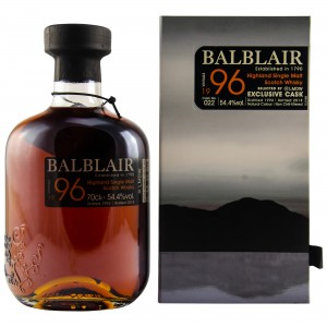 Balblair 1996/2018 Spanish Oak Cask LMDW Single Cask No. 22