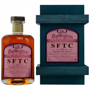 Ballechin SFTC 13 Jahre Burgundy Single Cask Cask No. 5