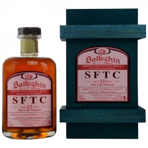 Ballechin SFTC 12 Jahre Port Cask Matured Cask No. 213
