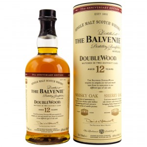 Balvenie 12 Jahre Double Wood - 25th Anniversary Edition
