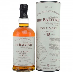 Balvenie 15 Single Barrel Sherry Cask - Cask Number 2058