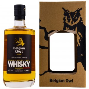 Belgian Owl Intense Edition 2018-04 Single Cask No. 6033554