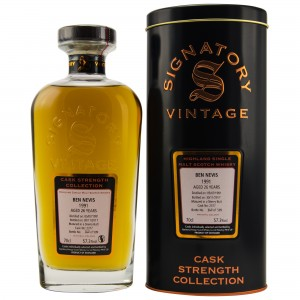 Ben Nevis 1991/2017 Cask No. 2377 (Signatory Cask Strength Collection)