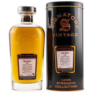 Ben Nevis 1991/2018 Cask No. 2376 (Sherry Butt) (Signatory Cask Strength)