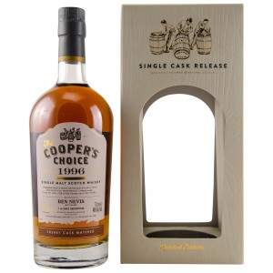 Ben Nevis 1996/2018 21 Jahre Sherry Cask No. 9804 (The Vintage Malt Whisky Company - The Coopers Choice)