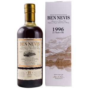Ben Nevis 1996/2018 - 21 Jahre (bottled for LMDW)
