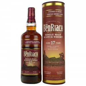 Benriach 17 Jahre Pedro Ximenez Finish