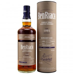 Benriach 1991/2018 Single Cask No. 6898 26 Jahre Burgundy Barrique