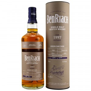 Benriach 1997/2018 Single Cask No. 7859 20 Jahre Virgin Oak