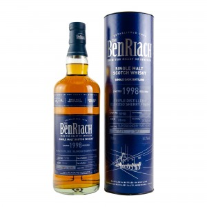 Benriach 1998/2016 Single Cask No. 5958 Triple Distilled Oloroso Sherry Finish